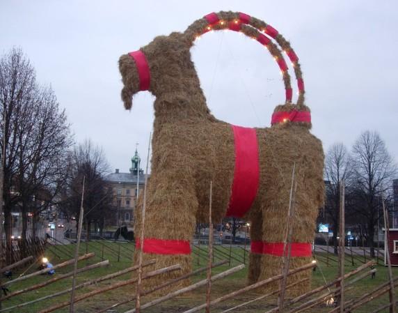 соломенный козел из Евле